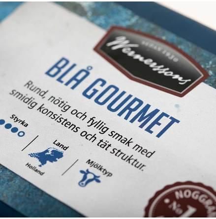 Blå Gourmet