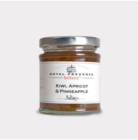 Marmelad med Kiwi, Aprikos & Ananas