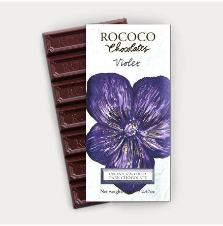 Chokladkaka med smak av Viol