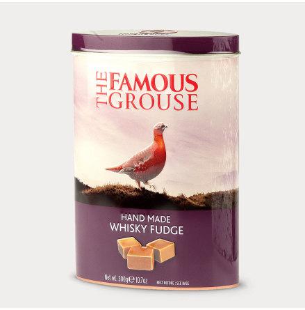 Famouse Grouse whisky fudge