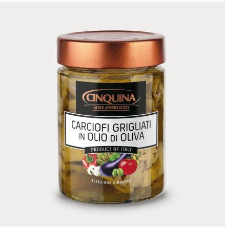 Grillad Kronärtskocka i olivolja