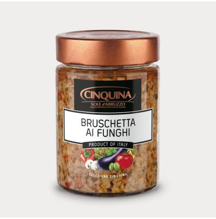 Bruschetta med svamp, ai Funghi