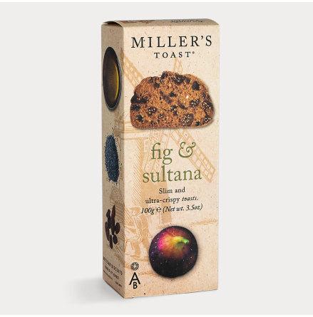 Kex Millers Toast Fikon & Sultanrussin