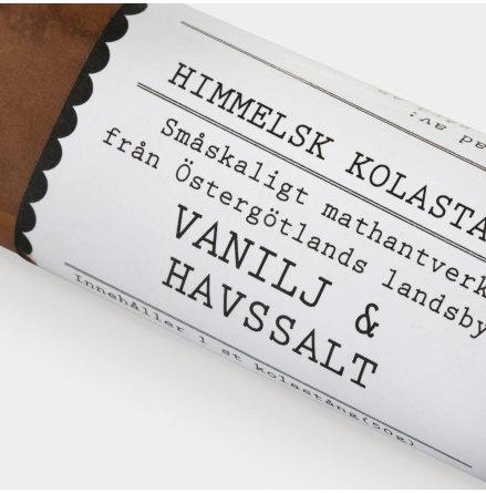 Kolastång med Vanilj & Havssalt