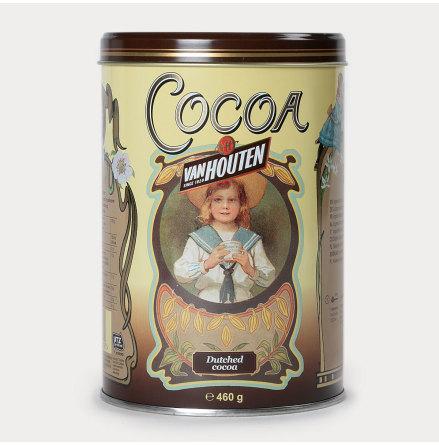 Cacaopulver i plåtburk