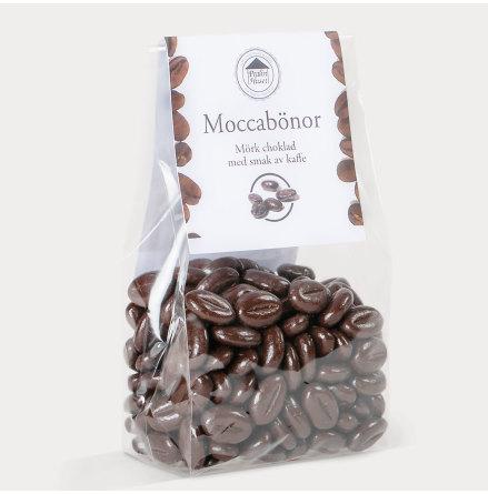 Moccabönor smaksatt med mörk choklad