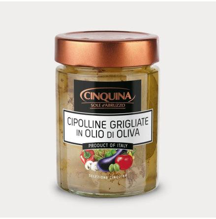 Grillad Vårlök i olivolja