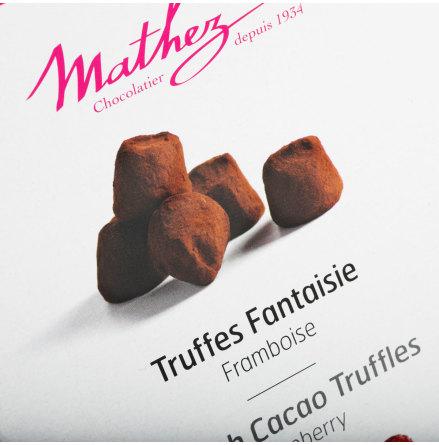 Chokladtryffel Framboise