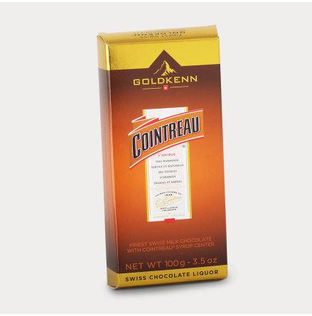 Choklad fylld med Cointreau likör