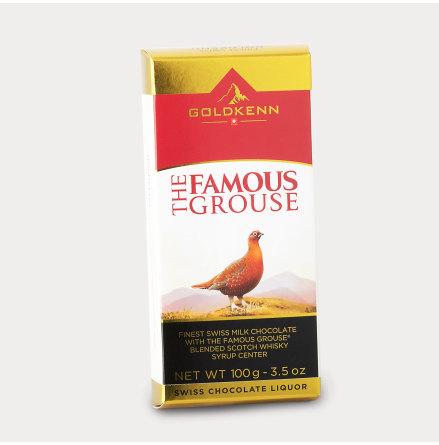Choklad fylld med Famous Grouse whisky