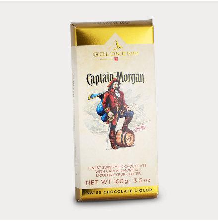 Choklad fylld med Captain Morgan