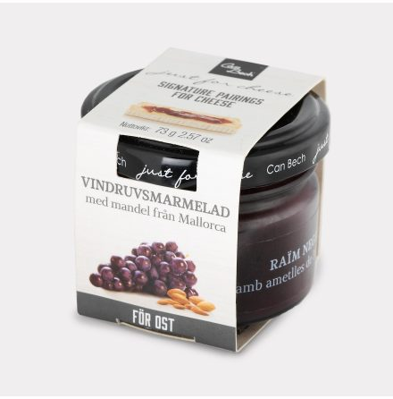 Marmelad med Vindruva & Mandel