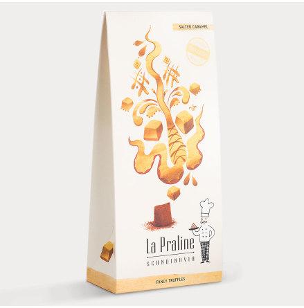 Chokladtryffel med Salt Karamell