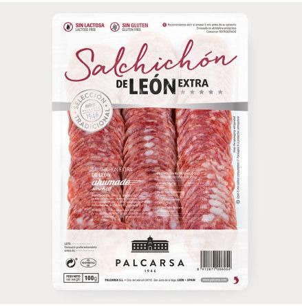 Lufttorkad korv, Salchichon de Leon