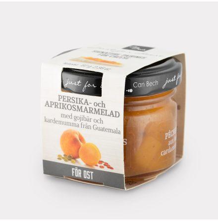 Marmelad med Persika,Aprikos,Gojibär & Kardemumma