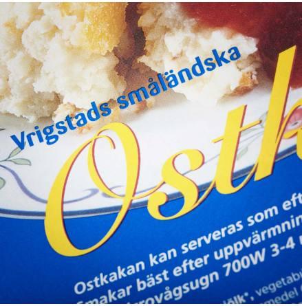 Vrigstad Ostkaka 500 g