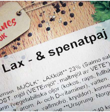 Lax och Spenatpaj