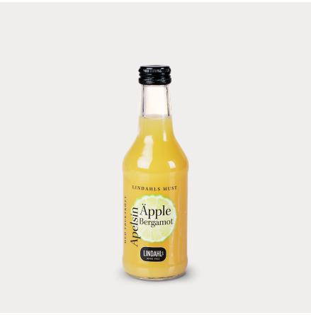 Äppelmust Crafted & Cloudy Apple, Orange & Bergamot