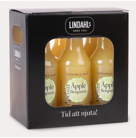 Lindahls must Äpple, Apelsin & Bergamot 6-pack