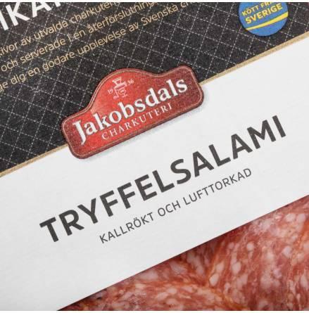 Kallrökt och Lufttorkad Tryffelsalami