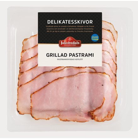 Grillad Pastrami
