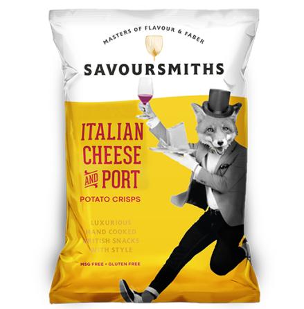 Krispiga Chips Italian Cheese & Port