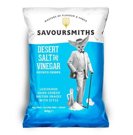 Krispiga Chips Desert Salt & Vinegar