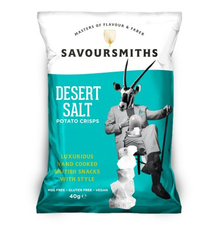 Krispiga Chips Desert Salt