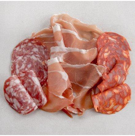 3 x Tapasmix Jamon Serrano, Chorizo och Salchichon