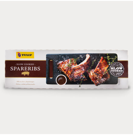 Slow cooked Spareribs