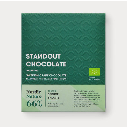 Chokladkaka Nordic Nature Granskott 66%