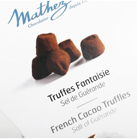 Chokladtryffel Sel de Guèrande