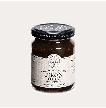 Marmelad med Fikon & Oliv